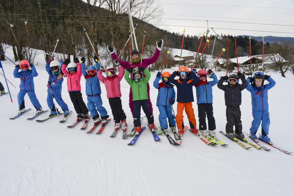 SCRE Bambini U8 Team 2018 Trainerin Kinder Alpin
