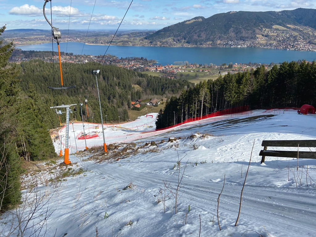 SCRE Alpin Sonnenbichl Europacup Slalom Damen März 2020