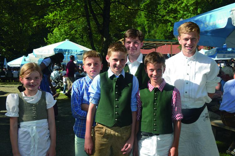 Ski-Club Rottach-Egern Waldfest 2016 Helfer Mitglieder