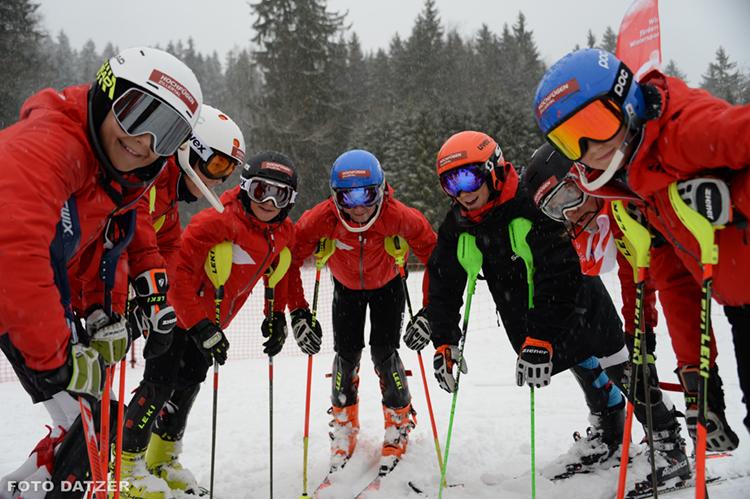 Ski-Club Rottach-Egern Alpin Team U12 Rennfahrer Slalom Winter Sonnenbichl