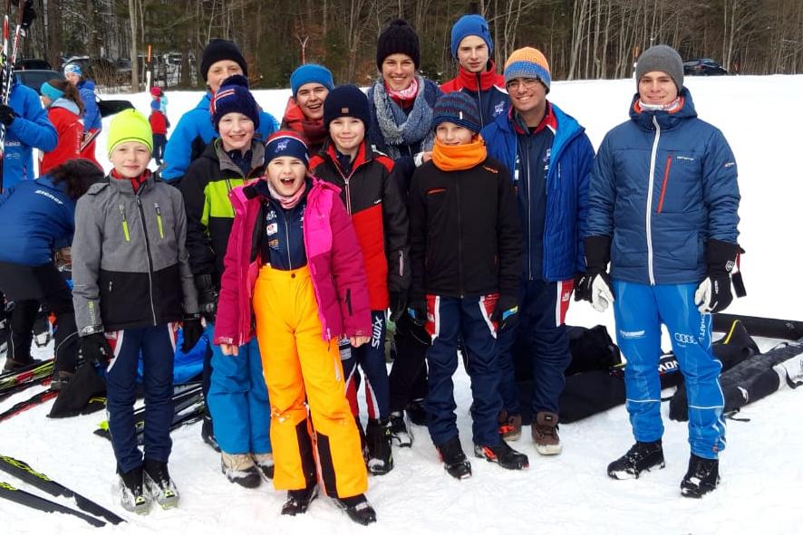 Ski-Club Rottach-Egern Team Nordisch Raiffeisen Cup Januar 2020 Langläufer Winter Bayrischzell